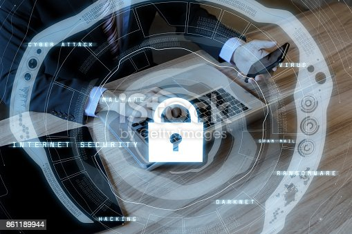 686526046istockphoto internet security concept. cyber security. 861189944