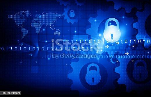894954832 istock photo Internet Security concept 1018088524