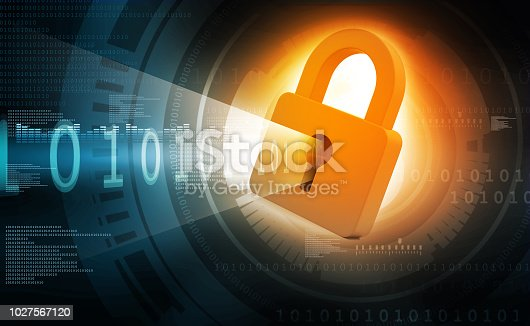 istock Internet security concept 1027567120