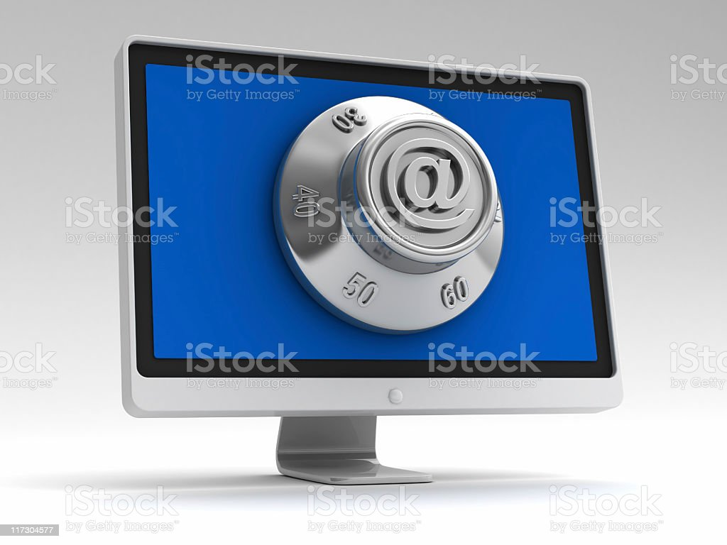 internet security concept royalty-free stock photo