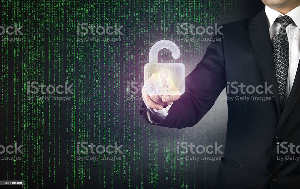 Internet Security concept stock photo