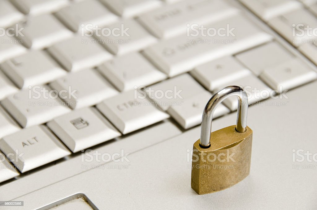 Internet security concept. royalty-free stock photo
