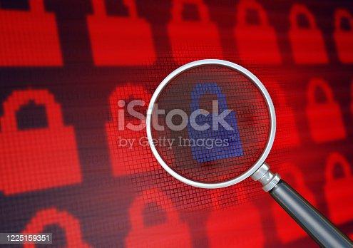 913017342 istock photo Internet Security 1225159351