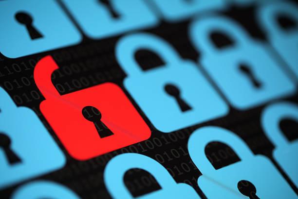 seguridad de internet - robo de identidad fotografías e imágenes de stock