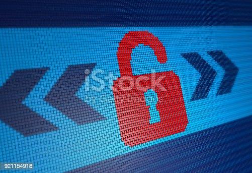 913017342 istock photo Internet Security 921154918