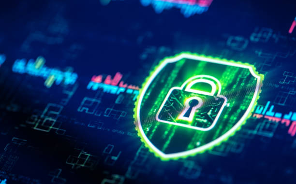 Internet security solution Internet security solution on digital display close-up vpn stock pictures, royalty-free photos & images