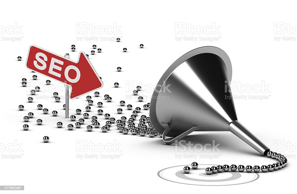 Internet SEO Campaign Concept royalty-free stock photo