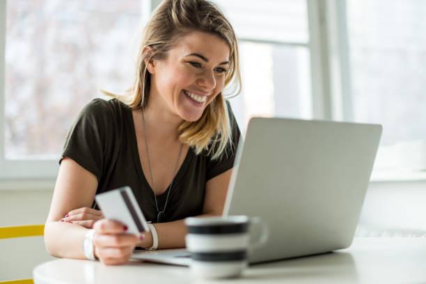 internet-shopping - onlinebanking stock-fotos und bilder