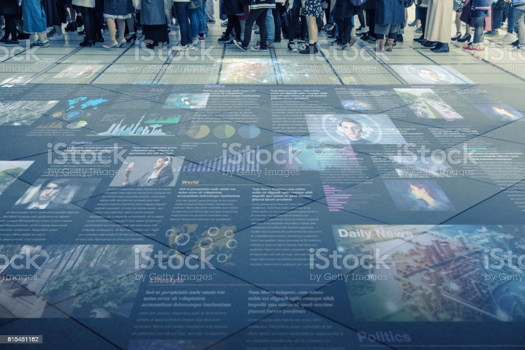 internet social media concept stock photo