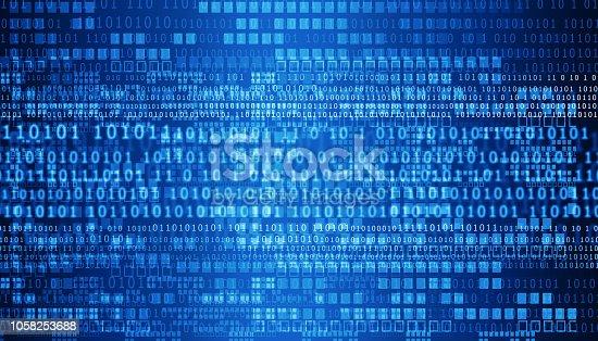 Internet technology background. Digital  illustration