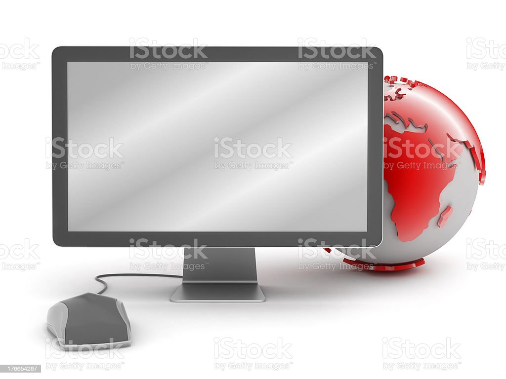 Internet technology - concept illustration royalty-free stock photo