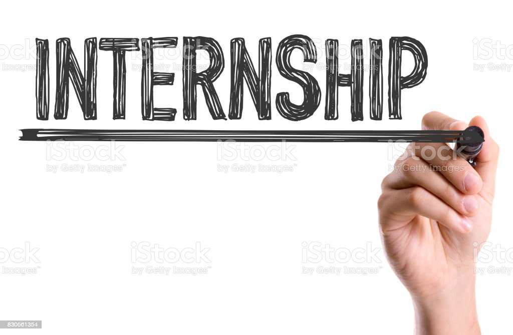 Internship stock photo