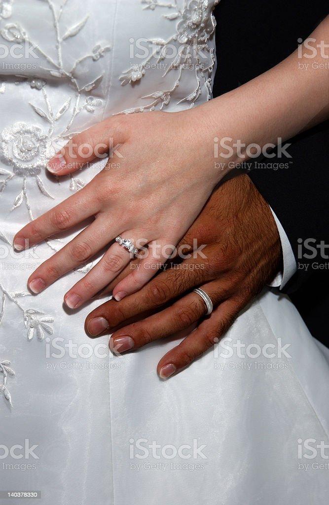 Interracial Couple stock photo