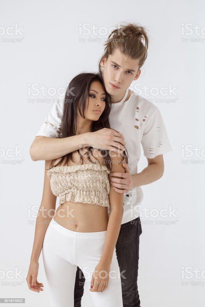Romantic interracial picture — 3