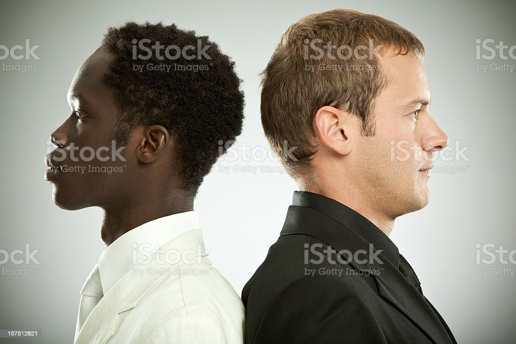 interracial  work team royalty-free stock photo