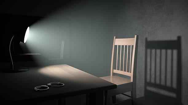 Interrogatório quarto - foto de acervo