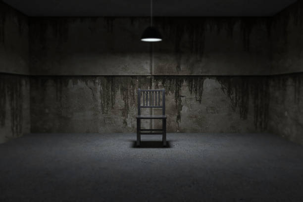 interrogation room - horror stock pictures, royalty-free photos & images