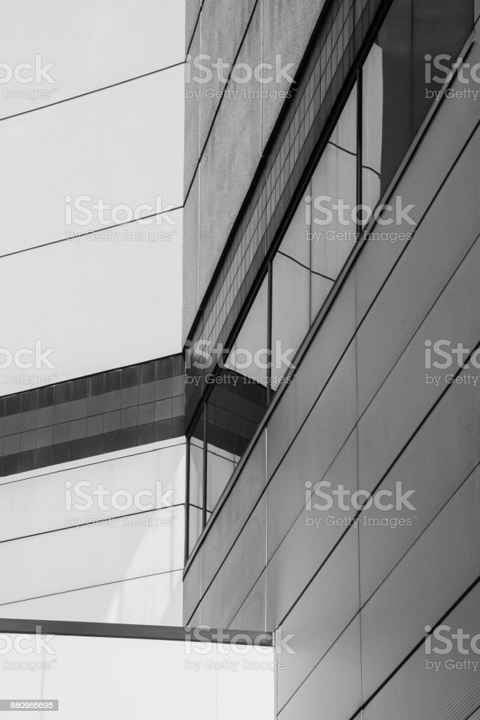 Intersecting Walls stock photo