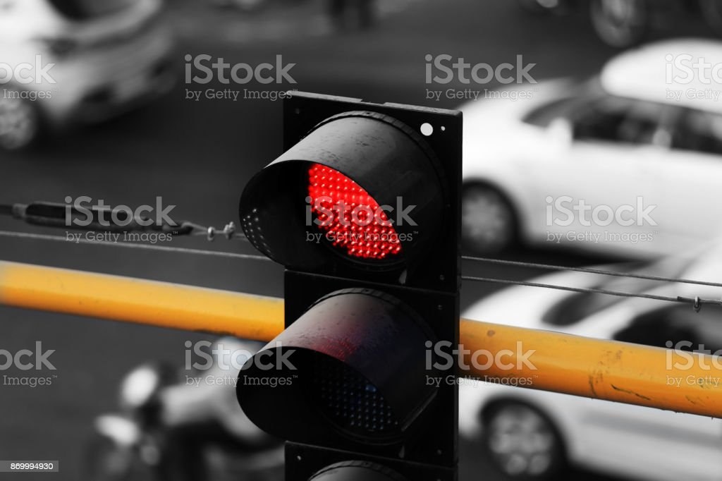 Intersection, stock photo