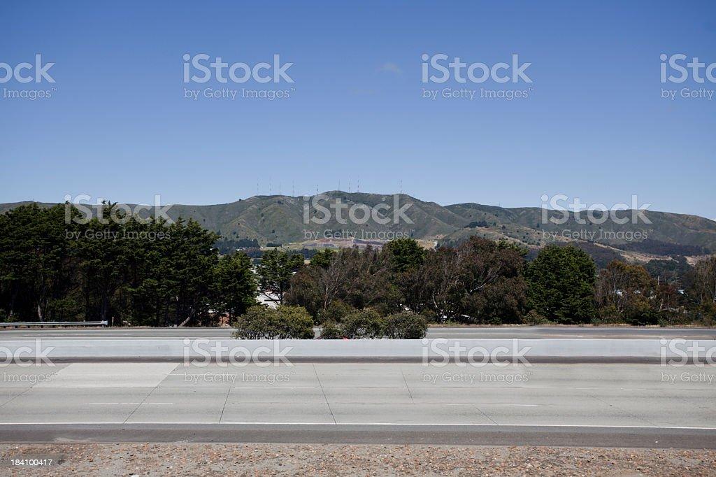 Interstate 280 stock photo
