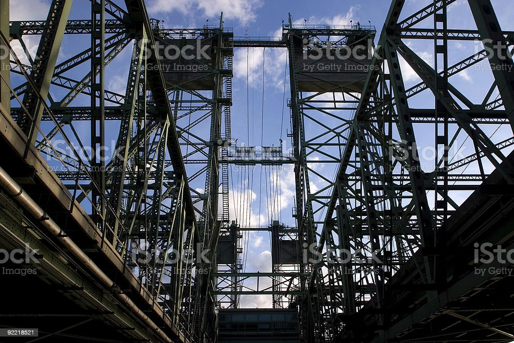 Interstate Bridge royalty-free stock photo
