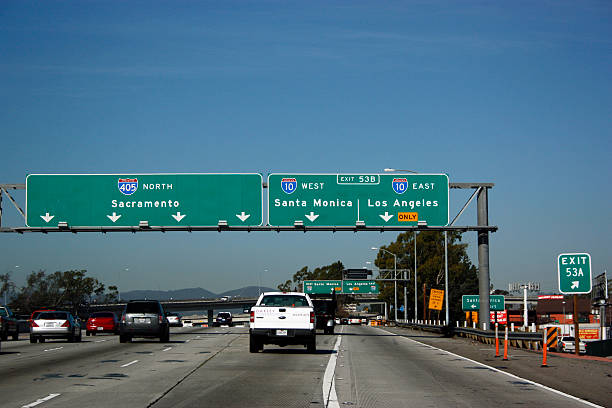 Best 405 Freeway Stock Photos, Pictures & Royalty-Free