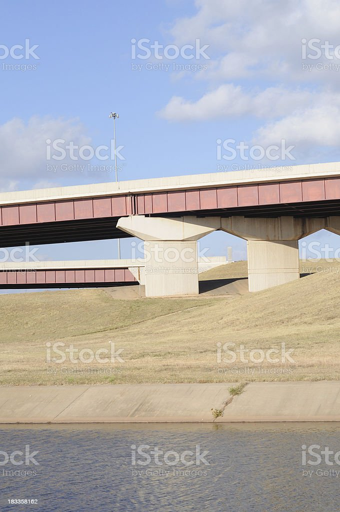 Interstate Highway Structure stock photo