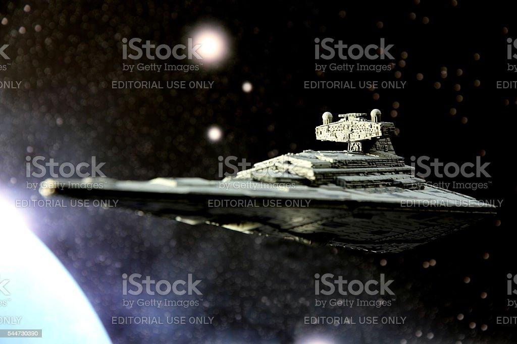Interstellar Enforcement stock photo