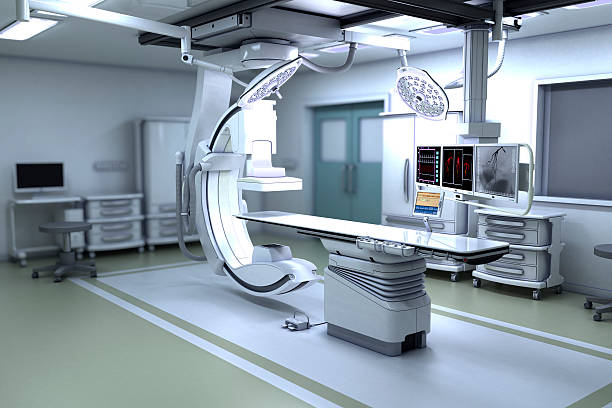 interventional x-ray system - screening stock photos and pictures
