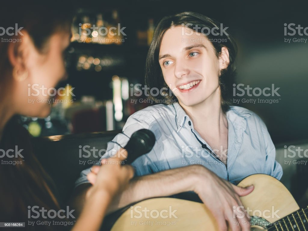 interview famous publicity celebrity lifestyle stock photo