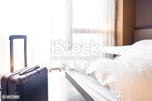 istock Interviews of hotel room 614622994