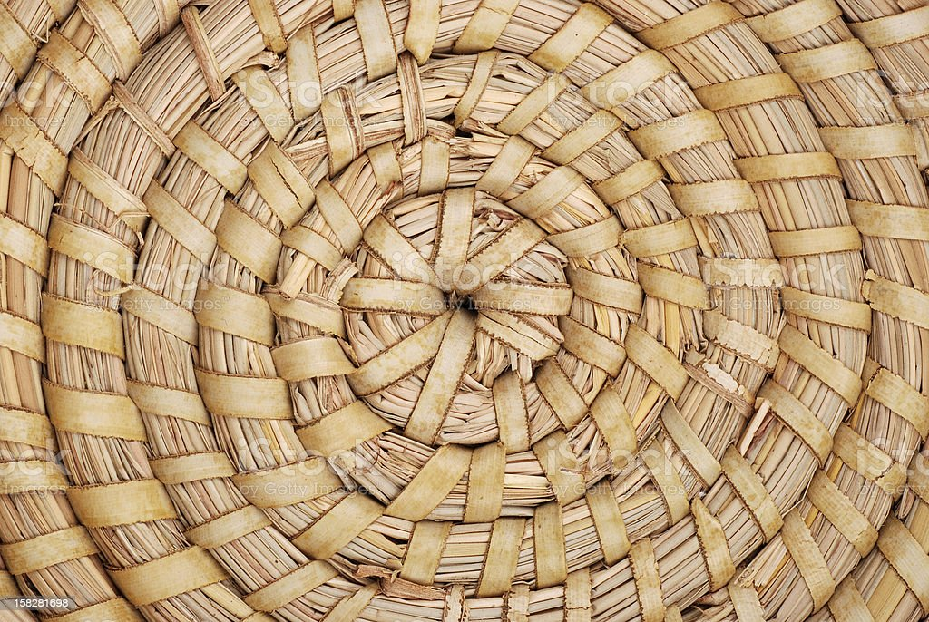 interweaving spiral stock photo