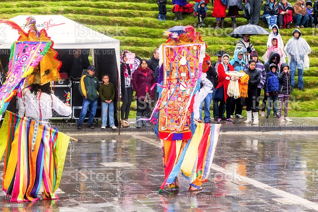 Inti Raymi, Explosion Of Colors stock photo