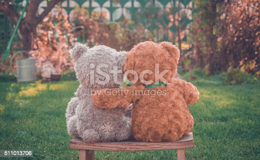 istock Intimate conversation in the garden 511013706