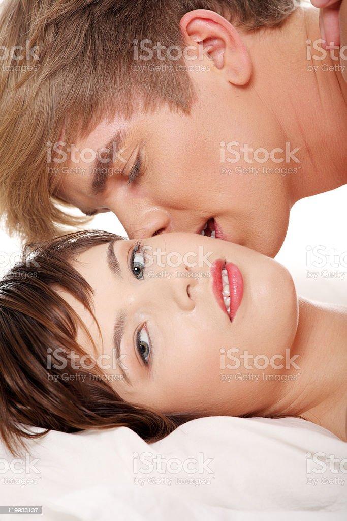 Intimate couple royalty-free stock photo