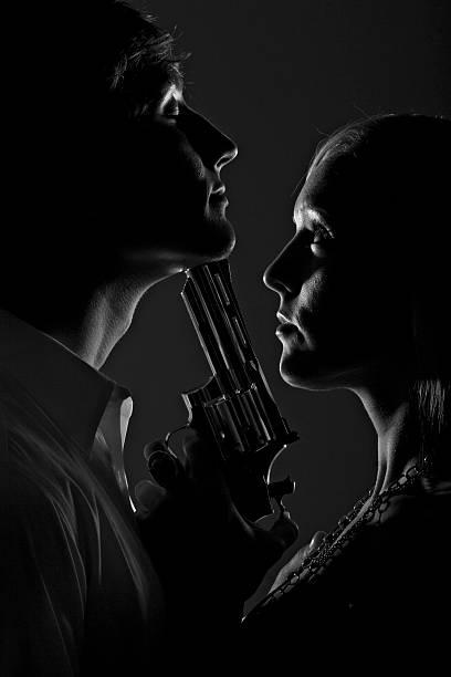 Intimate Homicide Series stock photo