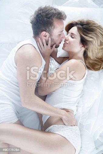 istock Intimate relation between two people 490225284
