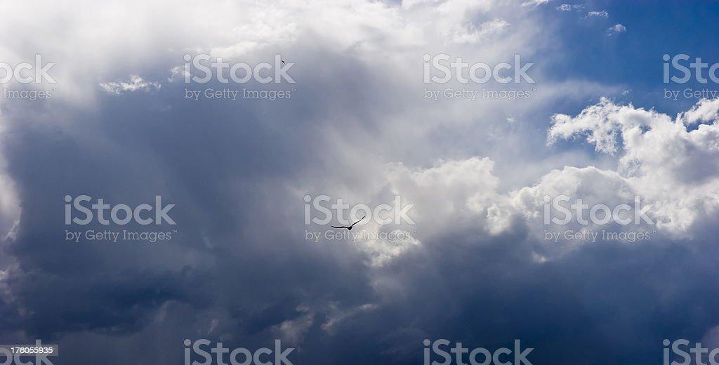 Into heaven stock photo