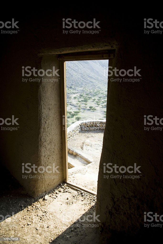 Into Oasis Light royalty-free stock photo