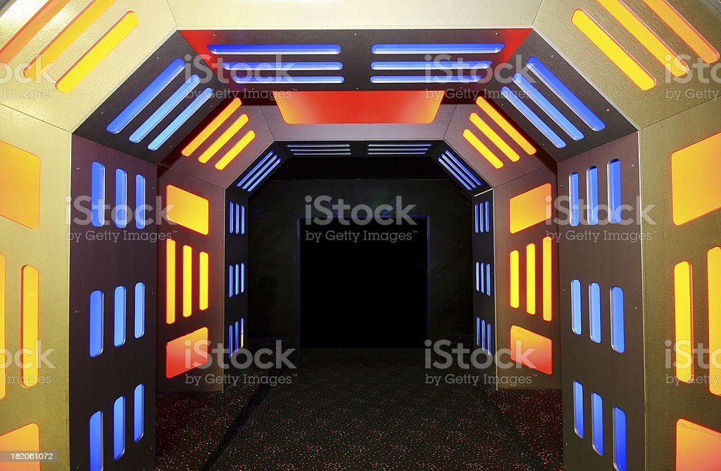 Into The Abyss royalty-free stock photo