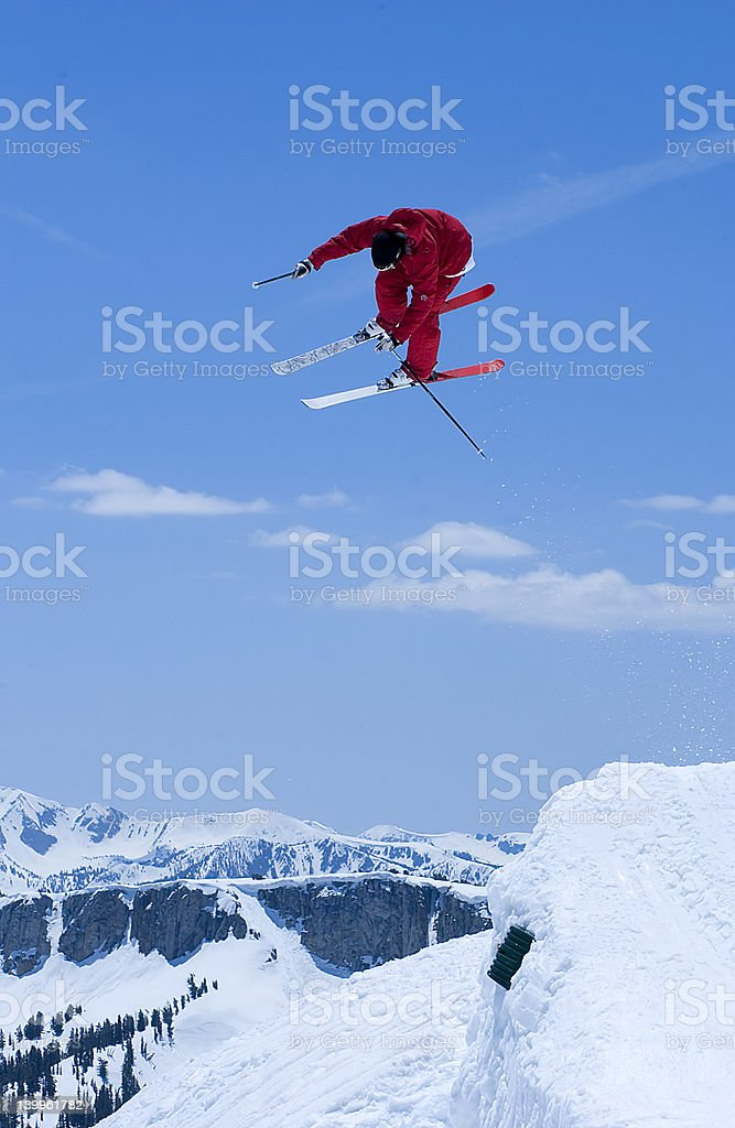 Into the Blue royalty-free stock photo
