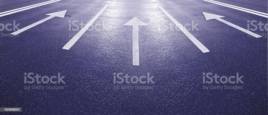 Into the bright future royalty-free stock photo
