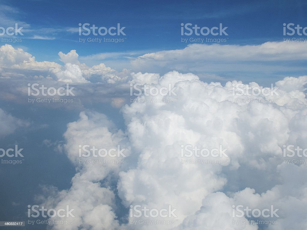 Into the Cloud stock photo