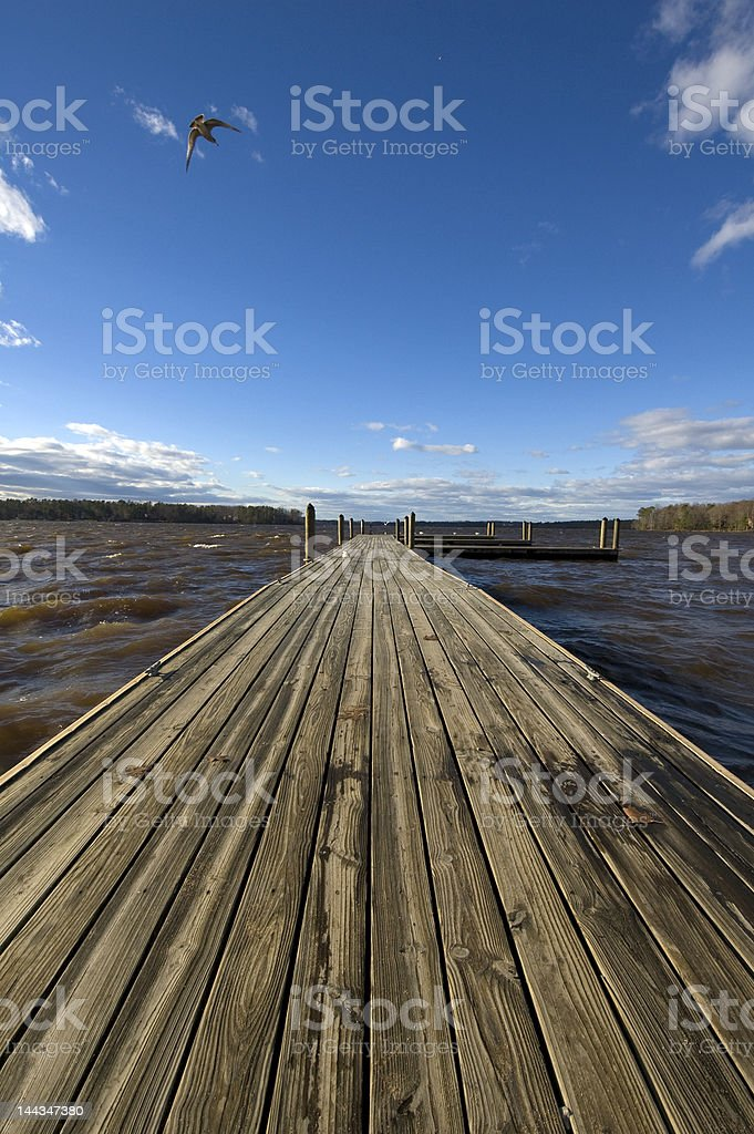Into the Clouds royalty-free stock photo