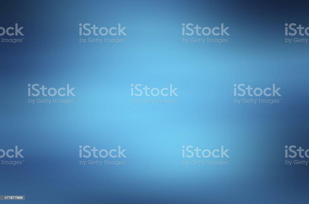 Into the deep blue sea stock photo