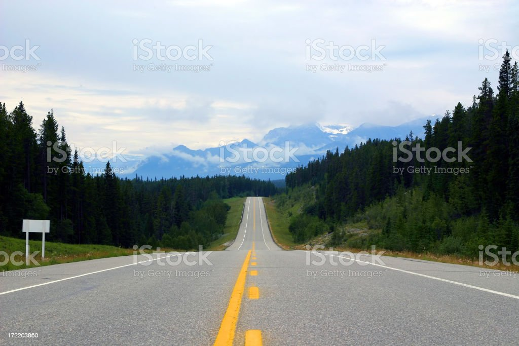 Into The Distance royalty-free stock photo