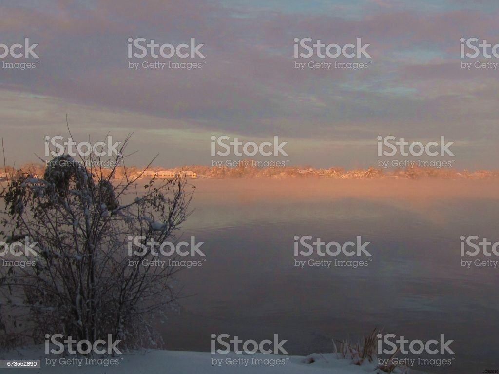 Into the Fog royalty-free stock photo