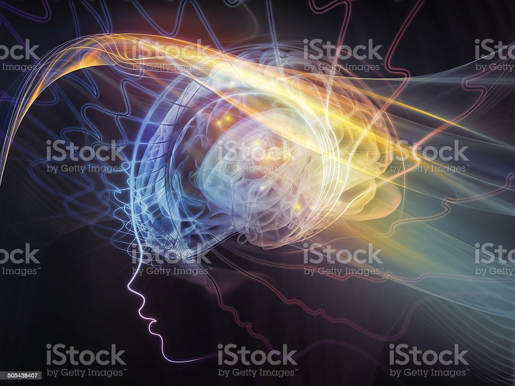 Into the Mind stock photo