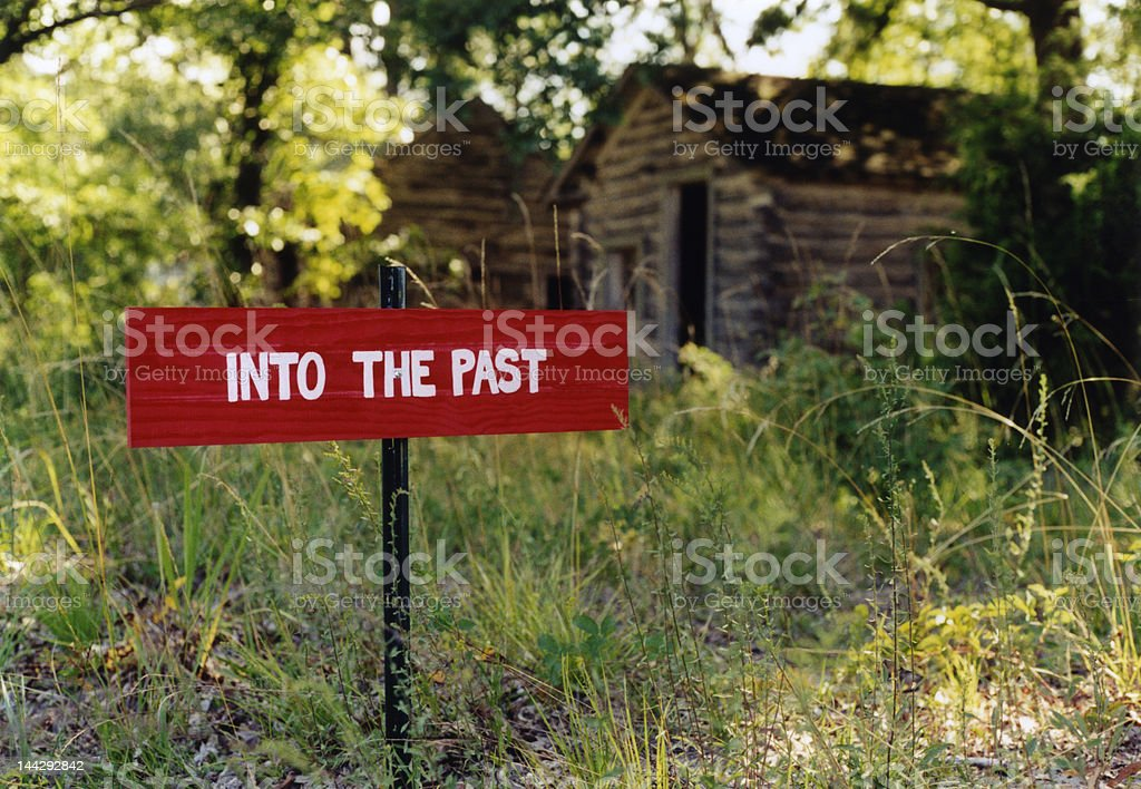 Into the Past royalty-free stock photo