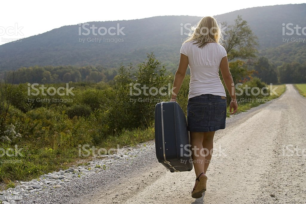 Into the Sunset royalty-free stock photo